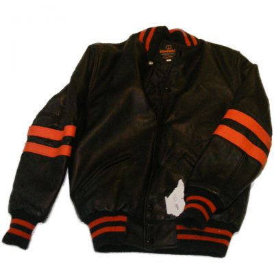 WB All Leather Letter Jacket