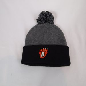 PomPom Knit Stocking Cap