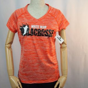 Ladies Camo Hex Lacrosse Tee